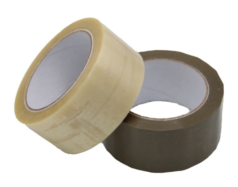 Hotmelt Tape Brown And Transparent