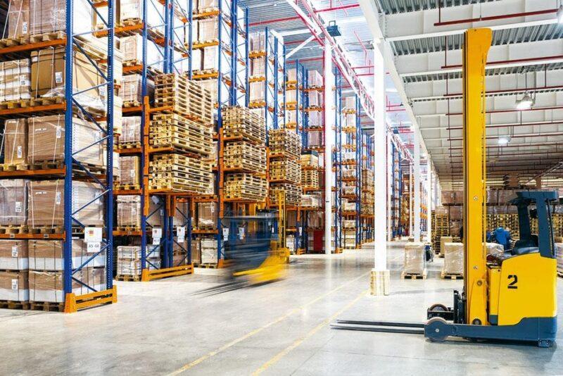 Imtre Logistiek Binnenzicht Magazijn Via Montea Shutterstock 396