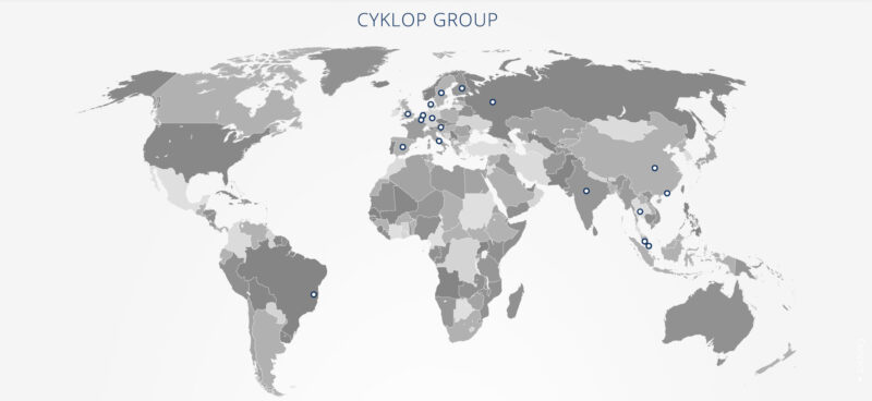 Cyklop Group Header